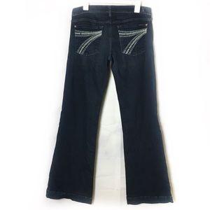 7FAM Darkwash Dojo Jeans